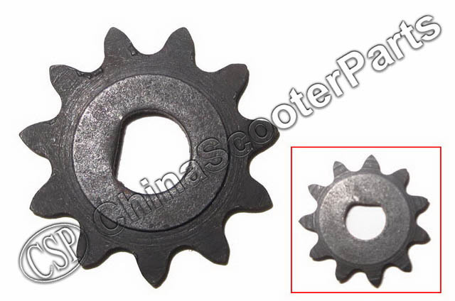 11 Tooth 25H D Type 10MM  Razor EVO X-Treme IZIP Scooter Mini Moto Sprocket