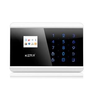 Image 2 - KERUI Android IOS APP di controllo GSM PSTN Antifurto Casa Sistema di Allarme di Sicurezza Russo Spagnolo Francese Inglese di Voce di Allarme