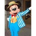 Navy Blue Mouse Mascot Costume Adult Size Fancy dress