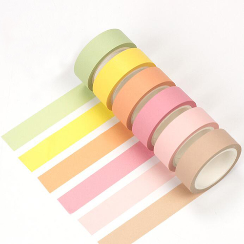15mm*8M Kawaii pure color washi tapes Decoration masking paper tape DIY stationery notebook stickers School supplies(tt-2890) 12pcs lot vegetab fruit plant paper masking tape japanese washi tapes set 3cm 5m stickers kawaii school supplies papeleria 7161