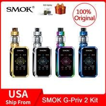 Original SMOK G-Priv 2 Kit Luxe Edition 230W with TFV12 Prince Tank 8ML Electronic Cigarette VS X PRIV/Mag/Stick Prince vape kit