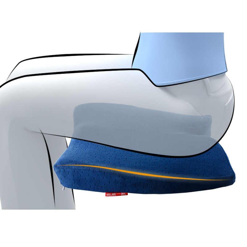 Assentos De Espuma de Memória para Adultos Bebê Dropshipping Cóccix Ortopédica Almofada do Saco de Feijão Pufe para viajar Respirável escritório Em Casa