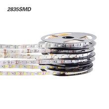 2018 NEW 2835/5050/5630 White / Warm white LED Strip 5M 60Leds/M 300Led SMD RGB Lamps DC12V flexible light Tape Ribbon Ledstrip