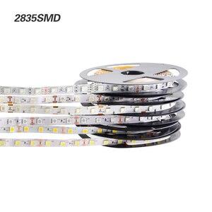 Image 5 - LED רצועת 2835 5050 5630 לבן חם לבן LED רצועת 5M 60 נוריות/M 300Led SMD RGB מנורות DC12V גמיש אור קלטת סרט Ledstrip