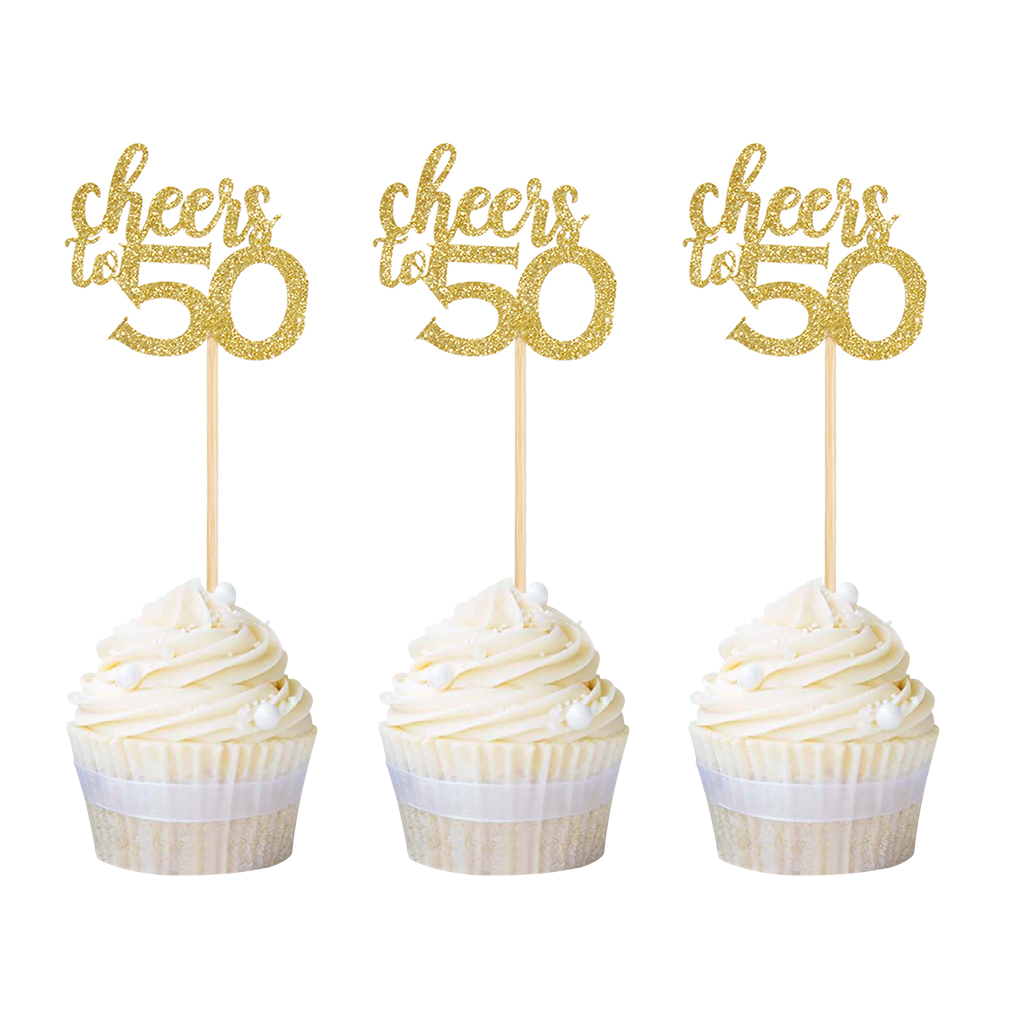50 Cupcake Toppers