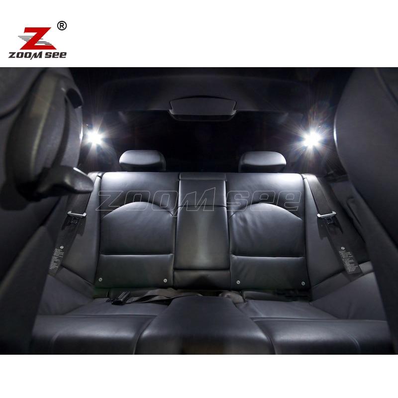 16pc LED ampul Daxili işıqlar bmw E46 sedan salonu üçün kupe - Avtomobil işıqları - Fotoqrafiya 3
