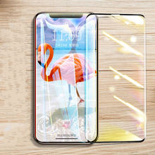 High Quickly Cover Tempered Glass for on iPhone XS MAX Screen Protector Protective