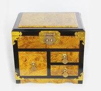 Zhang golden mirror box crafts creative gifts crafts wood ornaments wood crafts gifts