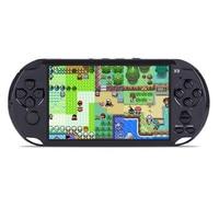 5 0 Large Screen X9 Gamepad 8GB Game Console Handheld Gaming Machine Portable Game Player 1080