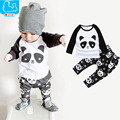 Baby Boy Clothes Cotton Toddler Kids Costume Spring Baby Girls Clothes Print Top+Pants 2pcs New Born Baby Boys Clothing Set