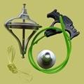 Giroscópio de Metal clássico tradicional brinquedos educativos magia ensino da ciência física espacial adereços presente criativo para crianças
