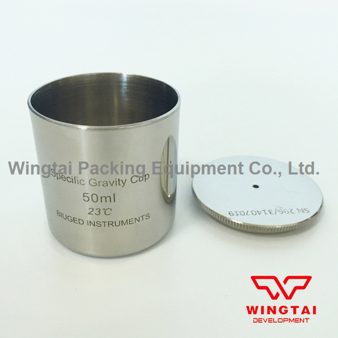 50ml Stainless steel Density Cup Specific Gravity Cups with DIN 53217,ISO 2811 Standard high quality 37ml stainless steel density specific gravity cups with din 53217 iso 2811 and bs 3900 a19 standard