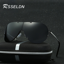 RSSELDN Brand Pliant Fold Leisure Sunglasses Women's Sunglasses Polarized Men Oculos Retro Designer Sunglasses Gafas De Sol  117