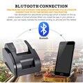 Черный и белый оптом высокое качество 58 мм Термопринтер Чековая машина скорость печати 90 мм/сек. USB + Bluetooth интерфейс