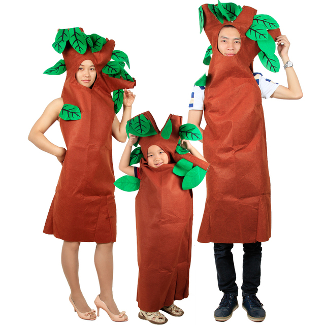 how to make a tree costume for a child