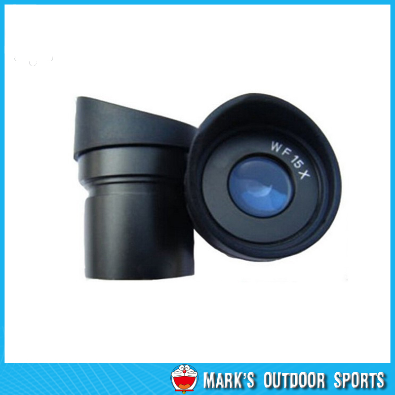 ФОТО 2 PCS 30.5mm Mounting Wide Angle Eyepiece WF15/15mm with for Stereo Microscope