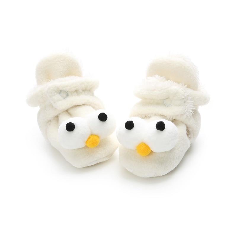 Baby Boots First-Walkers Non-Slip Newborn Winter Warm Cute Cartoon Casual Cotton Soft