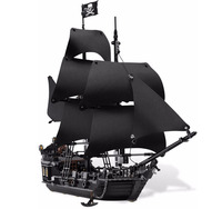 Lepin 16006 804Pcs Pirates Of The Caribbean The Black Pearl Ship Model Building Kits Toy Compatible