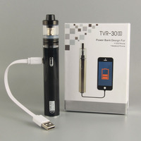 Electronic Cigarette Ecpow TVR 30S e cigartte mod POWER BANK function Micro usb e cig hookah vape pen 0.5ohm