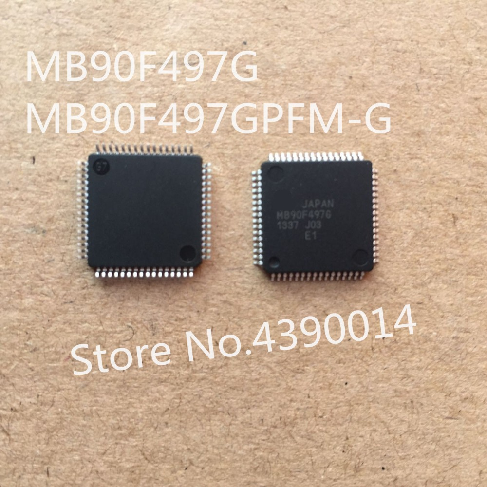 5pcs/lot MB90F497G MB90F497GPFM-G QFP 1pcs mc9s12dp512 mc9s12dp512cpve qfp