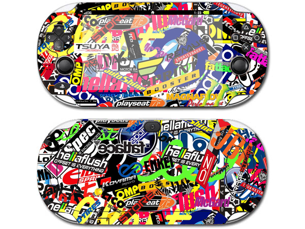 Graffiti Art For PSV1000 Skin Sticker Cover For Sony PS vita 1000 For PSV 1000 Decal(China)