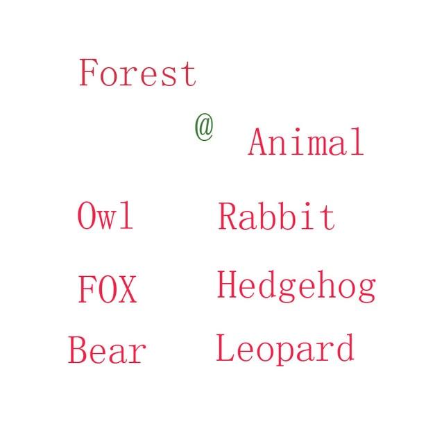 20 cm Śmieszne Sweetie las zwierząt pluszowa zabawka królik sowa fox Bobra jeż lynx niedźwiedź wypchane lalki dla dzieci boże narodzenie urodziny prezent
