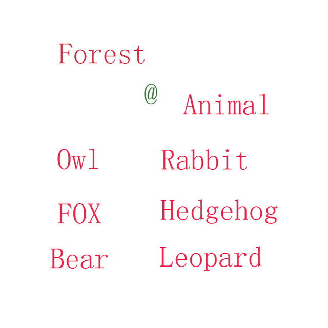 20cm Funny Sweetie forest animal plush toy rabbit owl fox Beaver hedgehog lynx bear stuffed dolls kids christmas birthday gift