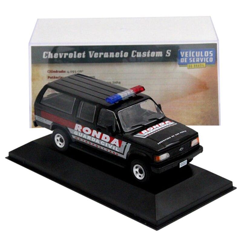 IXO 1:43 для Chevrolet Veraneio-Ronda Sao Paulo автомобиль литые игрушки модели подарок хобби Миниатюрный