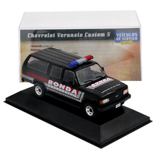 IXO 1:43 dla chevroleta veraneio ronda Sao Paulo samochody zabawkowe modele Diecast prezent hobby miniatura