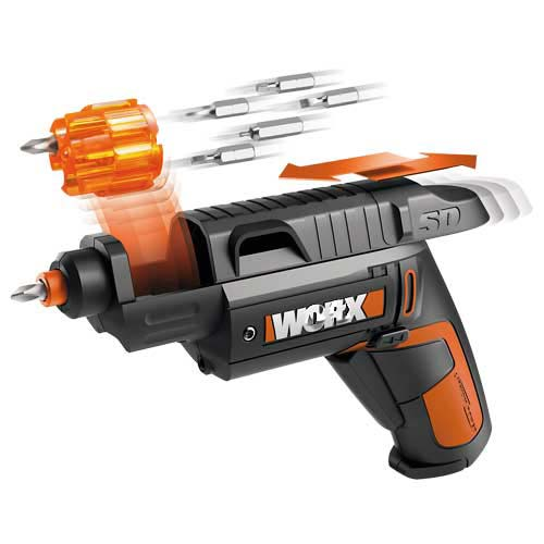 Screwddriver 9&31 Accessories Famous Brand Worx Electrical Screwdriver 4v / 1.5ah Li ion Power Tool