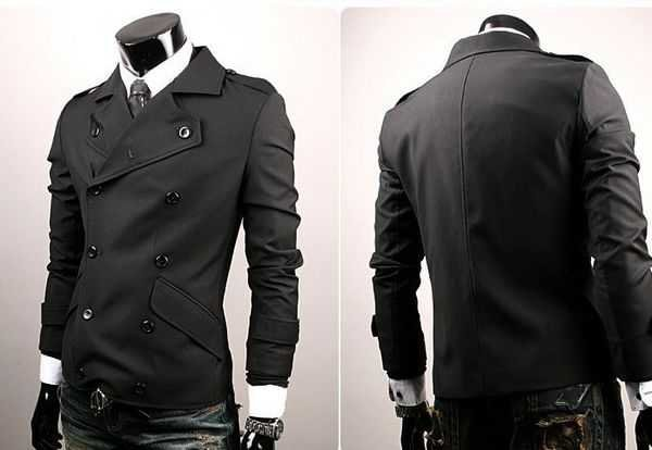 Aliexpress.com : Buy Men's jacket double breasted Casual jacket