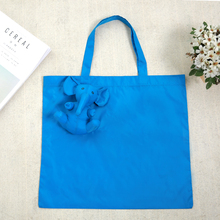 Elepha Eco Waterproof coating Reusable Portable Should cotton filling Shopping Bag Eco-friendly Grocery Fold