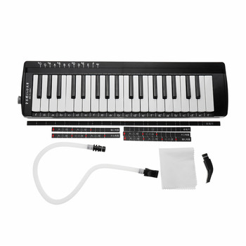 37 Keys Melodica Mouth Organ Piano Musical Instruments Accordion With Handbag
