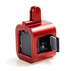 Image 3 - אביזרי Gopro Hero מצלמה 4/5 מושב סגסוגת אלומיניום מקרה שיכון מסגרת מגן לpro גיבור עבור 4/5 מושב הר