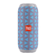 TG117 Wireless Bluetooth portable Speaker Stereo Subwoofer column loudspeaker+TF Built-in Mic Bass FM MP3 Sound Boom Box