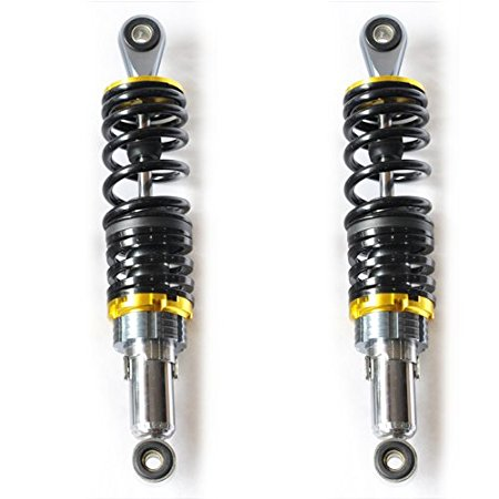 13 340mm Universal Shock Absorbers for Honda Yamaha Suzuki Kawasaki Dirt bikes Gokart ATV Motorcycles and