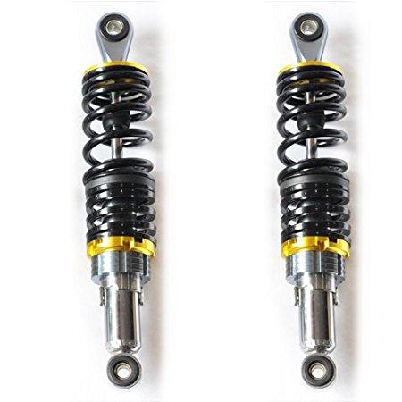 13 340mm Universal Shock Absorbers for Honda Yamaha Suzuki Kawasaki Dirt bikes Gokart ATV Motorcycles and