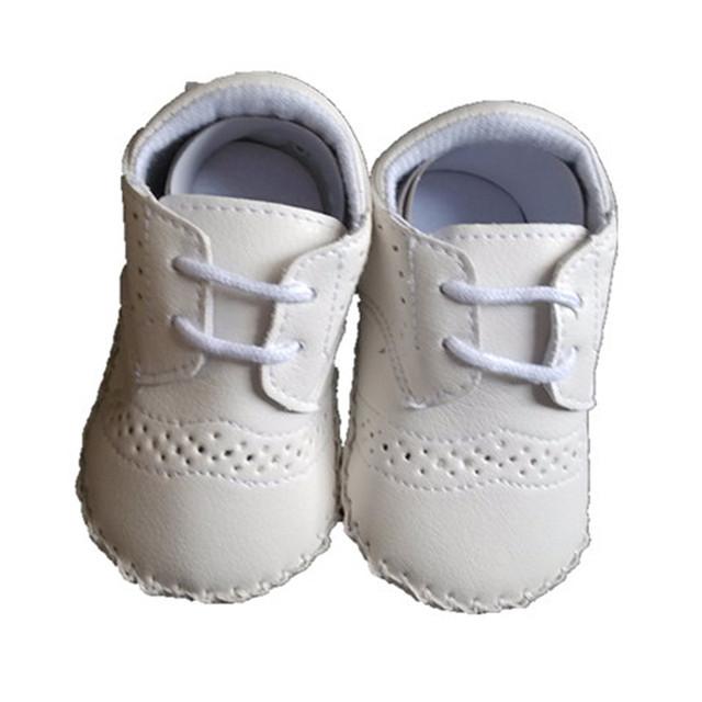 BBWOWLIN Primer Caminante Zapatos Infantil Sapatos Partido Bautismo Del Bebé Chico Guapo de Pie para Chritening Vestidos 0-2 T Niño 80709