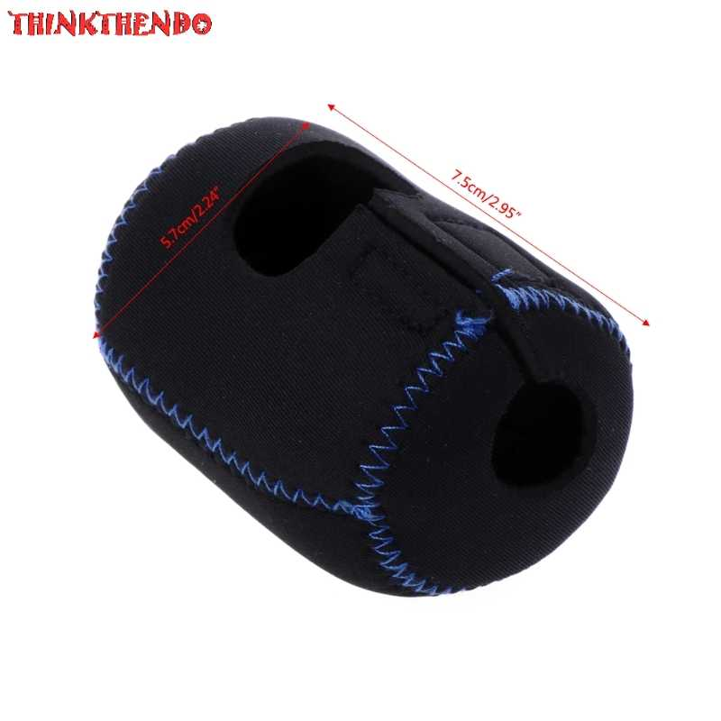 وصول الصيد بكرة حقيبة ل Baitcasting بكرة أو المياه قطرة عجلة بكرات الغطاء الواقي الأسود