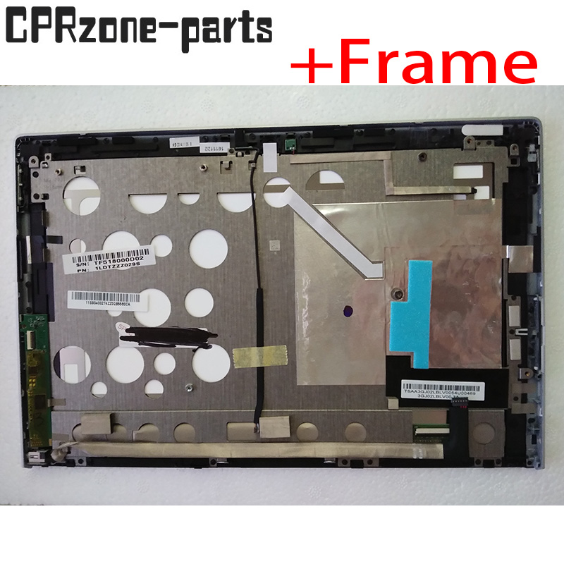 10 1 lcd with frame For Lenovo Miix 2 10 LCD display touch screen digitizer sensor