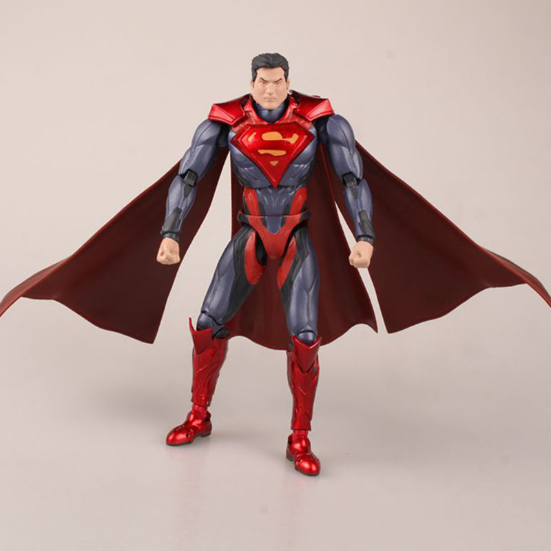 SHF Figuarts SHFiguarts Superman IN JUSTICE ver PVC Action Figure Collectible Model Toy 16cm KT3438