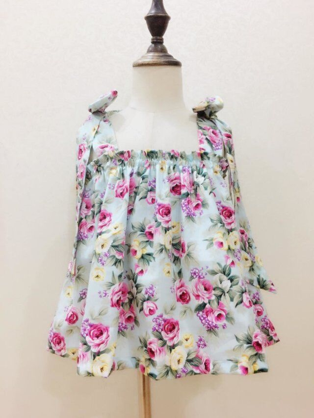 Cotton Poplin High-support cotton garden printing clothing cloth and other home DIY