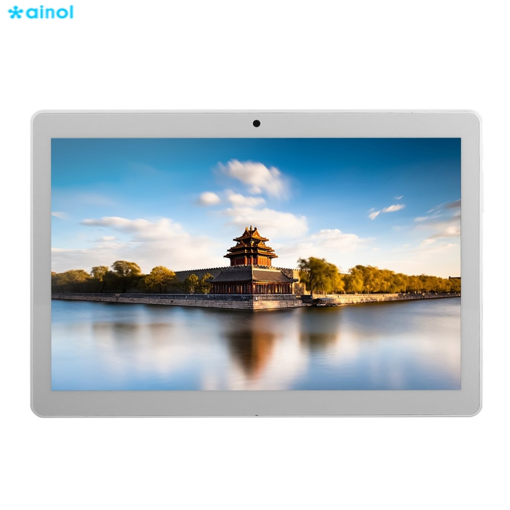 Ainol 9.6 inch 3G Phone Call Tablet Android 4.4 HD IPS Touch Screen 16GB ROM 800x1280 Dual SIM Smart Tablet MTK6582 Quad core interpad 3g tablet 10 1 inch quad core mtk6582 ips 1280 800 dual sim phone call tablet 2gb ddr3 16gb rom wifi android tablet pc