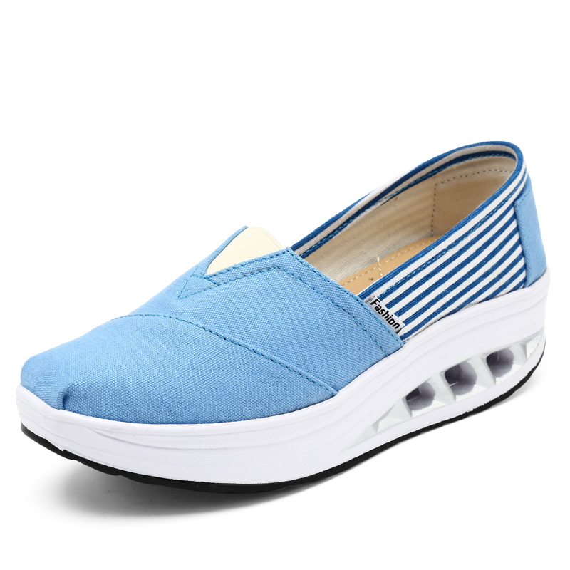 Fashion Women Canvas Shoes Ladies Casual Shoes Woman Flat Platforms Shoe Summer Slip on Zapatillas Deportivas Mujer Zapatos sweet women high quality bowtie pointed toe flock flat shoes women casual summer ladies slip on casual zapatos mujer bt123