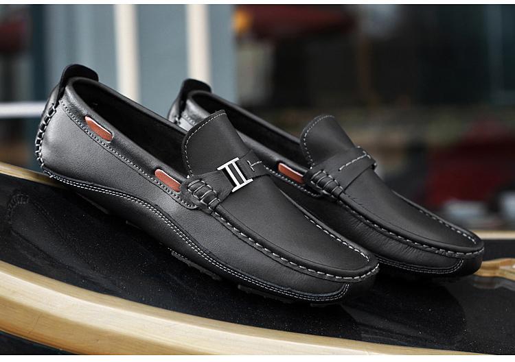HN 1128 (2) Men`s Casual Loafers Shoe