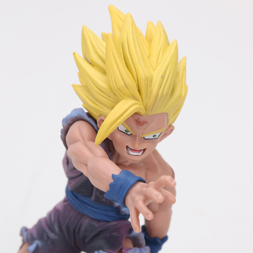 Grabbing Kid Gohan Action Figure