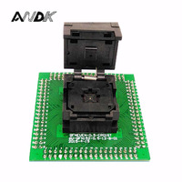 QFN32 MLF32 IC Test Socket Adapter Pitch 0 5mm Programming Socket Clamshell Chip Size 5 5