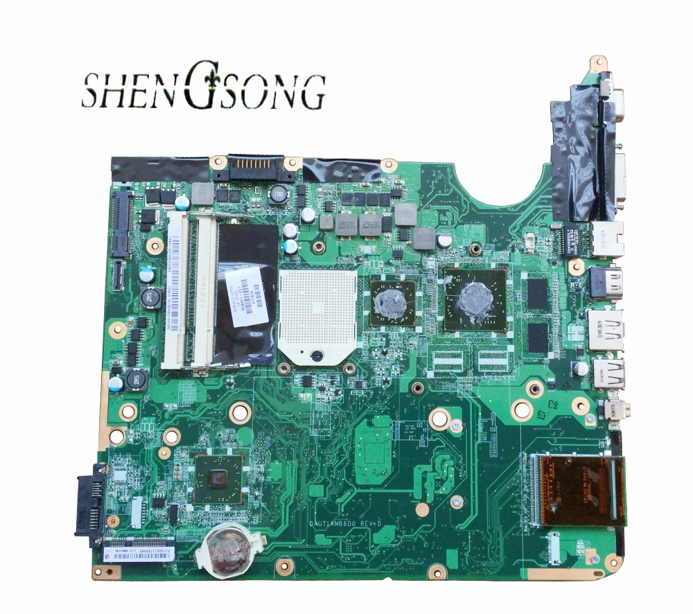 509451-001 for HP Pavilion dv6-1000 Entertainment Notebook for hp pavilion DV6 DV6Z motherboard DAUT1AMB6D0 100% test free shipping 571186 001 for hp pavilion dv6 dv6 1000 dv6 2000 series motherboard all functions 100