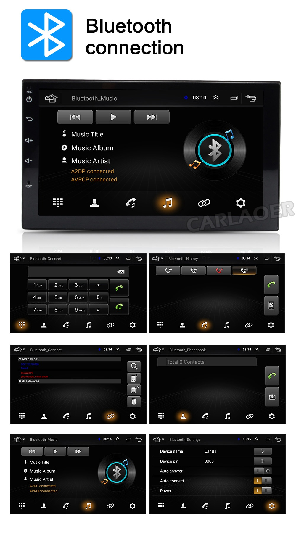 car android radio 2 din 2din - (8)