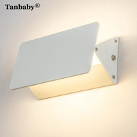 Tanbaby LED Wall Lamp Aluminum Adjustable Surface Lighting LED 2835 Chips AC220V 5W/7W/10W/20W Home Decoration for bathroom